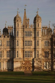Burghley House, Lincolnshire, England. Built in the 1690s by the 2nd Earl of Nottingham.