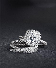 David Yurman Capri Engagement Ring Look Alikes