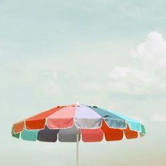Beach Umbrella Photograph