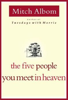 I loved this book.  It's about the connections you have made with people you have never met.  Fascinating idea!