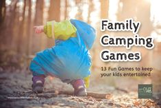 Keeping the whole family entertained is easily done with a few choice camping games to play. We've narrowed down a list of favourite 13 camping games to play out on your next family trip. Group Games, Fun Games, Games To Play, Family Camping Games, Go Camping, Capture The Flag, Getting Out, Knock Knock, Family Travel