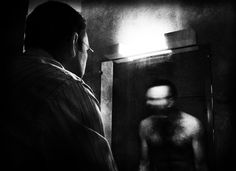 schizophrenia : hallucinations are usually threatening or terrifying.