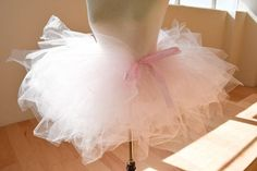 How To Make a Tutu | Try making this easy tutu skirt for your little girl. #DiyReady www.diyready.com