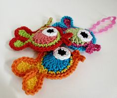 crocheted fish - free pattern (dutch)