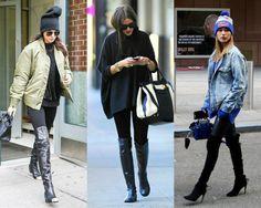 TPM Básica: Para se inspirar >> Looks com legging no frio
