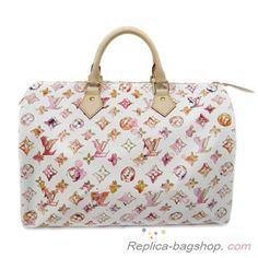 Louis Vuitton Watercolor Speedy 35 (Authentic Pre Owned) Louis Vuitton Shop, Louis Vuitton Speedy 35, Louis Vuitton Handbags, Party Accessories, Handbag Accessories, Purses And Bags, Chanel, Fancy, Tote Bag