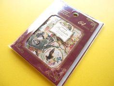 Classic Sticker Flakes Sack Antique Booklatte Label Q-LiA (71096)