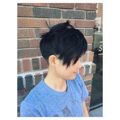 Short haircut @ brennen Demelo Studio by Shawna Lane