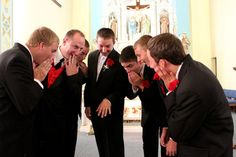 Funny wedding photo for the guys
