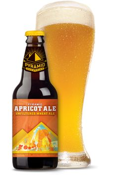 Pyramid Apricot Ale-a girl beer