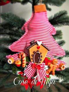 Decorazioni handmade Natalizie, by COSE DI MYA, 30,00 € su misshobby.com