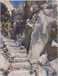 John Singer Sargent - watercolor