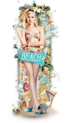 """""""Beach!!"""" by neamisra on Polyvore"""