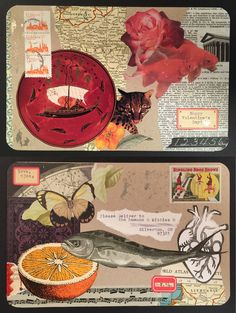 mail art valentine 2.14.2015 ~ by deadcatcreations