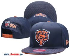 2018 New NFL Chicago Bears Adjustable Snapback Hat in Blue