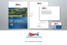 #ontwerp #logo en #huisstijl Jachthaven Schipluiden. http://www.zuid44.nl/