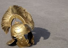 diy roman helmet | Roman military helmet.
