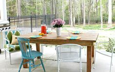 Outside table-will make!