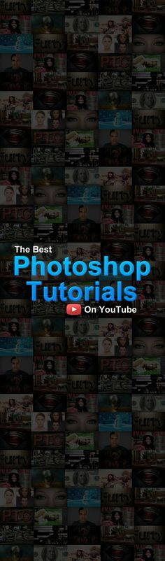 #Photoshop Video Tutorials on YouTube http://photoshoptrainingchannel.com