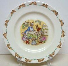 Royal Doulton Bunnykins plate