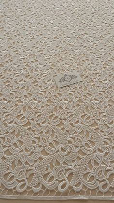 Guipure lace fabric French Lace Embroidered lace by ImperialLace