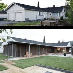 Villa Ø+M — KVALBEIN KORSØEN ARKITEKTUR Villa, Home Goods, Garage Doors, Shed, New Homes, Outdoor Structures, Exterior, Architecture, Outdoor Decor