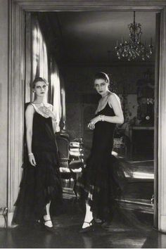 Cecil Beaton     Lee Miller and Marion Morehouse      1929