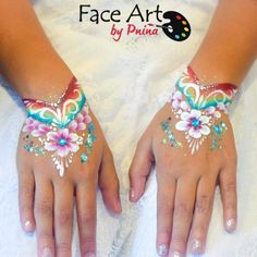 Spectacular How fairly! Face Painting Flowers, Face Painting Tips, Adult Face Painting, Belly Painting, Face Painting Designs, Paint Designs, Pretty Girl Tattoos, Festival Paint, Face Paint Makeup