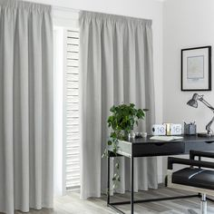 Bentley Stone - Readymade Thermal Pencil Pleat Curtain - Curtain Studio buy curtains online