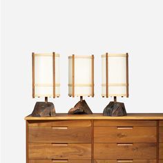 George Nakashima / table lamps