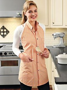 Cookshirt Apron - something else I can do with old men's shirts.