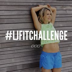 The wait is over sisters! @ljclarkson 's #ljfitchallenge is now available online & instore!