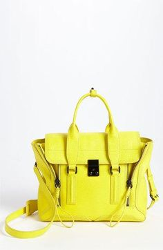 3.1 Philip Lim bag in yellow for Spring