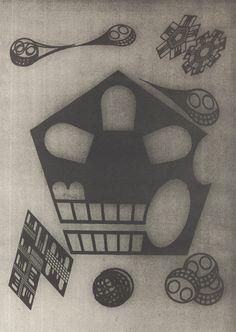 Masayoshi Nakajo 仲條正義 : 髑髏 #08