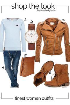Lässiges Outfit für Frauen kombiniert mit Teilen von Daniel Wellington, TOM  TAILOR, Stiefelparadies, 6c78a80272