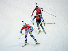 Sochi 2014 Day 15 - Biathlon Women's 4x6km Relay