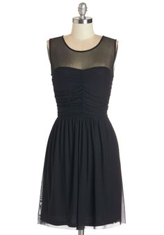 Night and Sway Dress. Day or night, this versatile little black dress from Jack by BB Dakota is your go-to for effortless elegance! #black #modcloth