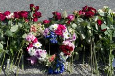 Ministries. Flowers and condolences laid down in Oslo in connection with the first anniversary of the terrorist attacks in Oslo and on Utøya.
