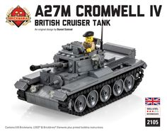 Brickmania creates historically themed building sets and minifigures made from LEGO® bricks, BrickArms weapons, and other premium quality accessories Lego Soldiers, Lego Ww2, Custom Lego, Legos, British, History, Design, Ideas, Lego