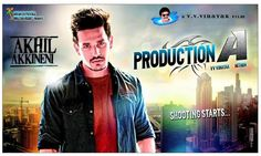 #AkhilAkkineni Debut movie first look posters...