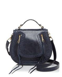e34819000887 REBECCA MINKOFF Vanity Small Distressed Leather Saddle Bag.  rebeccaminkoff   bags  shoulder bags