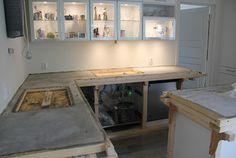 Benkeplate i betong - Weber