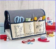 67 Ideas for sewing machine accessories costura Sewing Machine Projects, Small Sewing Projects, Sewing Hacks, Sewing Tutorials, Sewing Crafts, Sewing Machines, Sewing Machine Accessories, Diy Couture, Sewing Box