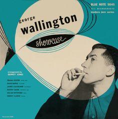 George Wallington cover designed by John Hermansader for High Fidelity.