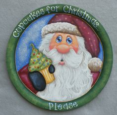 Even Santa needs a change sometimes.  New design...unpublished.  But...just found out yesterday that this Santa is headed for publication in the Decorative Painter magazine, Issue #3 2013.  Woo Hoo!!