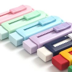 Staedtler Pastel Eraser with Sliding Sleeves 525 - Best Picture For diy face mask For Your Taste You are looking for something, and it is going to t - Stationary Supplies, Stationary School, Cute Stationary, Art Supplies, School Stationery, Middle School Supplies, College Supplies, School Suplies, Study Room Decor