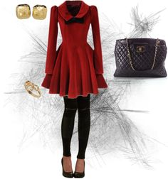 """Vintage with an Edge..??"" by petapug on Polyvore"