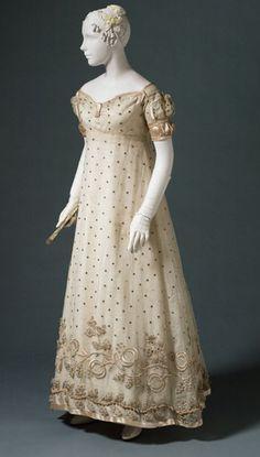 Evening Dress 1817 The Philadelphia Museum of Art