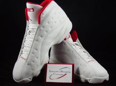 Air Jordan XIII (13) Eddie Jones PE – Miami Heat Home