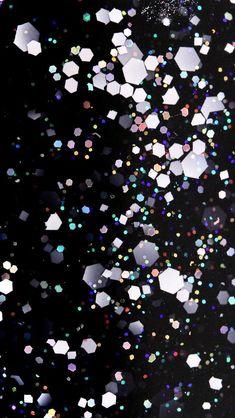 Glitter Macro Wallpapers: more!   Nailderella #BlackGlitter